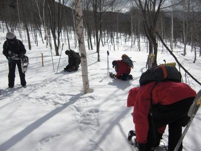 森のこだま館 冬山体験ツアー