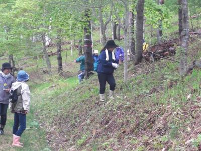 森のこだま館 いわて生協企画 植樹祭