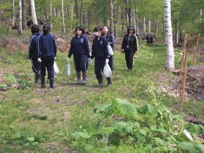 森のこだま館 盛岡市仙北中学校 職場体験