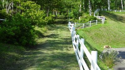 森のこだま館 塩の道草刈り