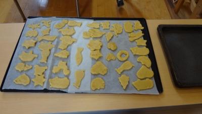 森のこだま館 葛巻児童クラブ クッキー作り体験
