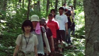 森のこだま館 九戸村荒谷地区子供会 体験