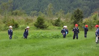 森のこだま館 葛巻小学校 塩の道を歩く